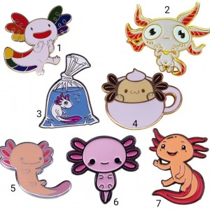 Pin's Axolotl