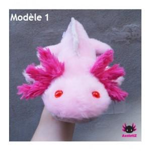 PRE COMMANDE * Peluche Axolotl